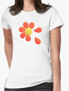 Loves me loves me not Womens Fitted T-Shirt