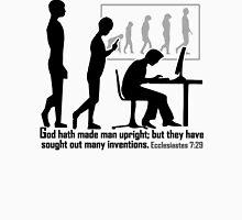 Ecclesiastes 7:29  DOWNRIGHT INVENTIVENESS Unisex T-Shirt