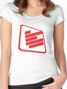 Terminal C - light Women's Fitted Scoop T-Shirt