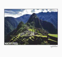 Machu Pixel by Matt  Streatfeild