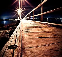 Applecross Jetty by sixfootfour