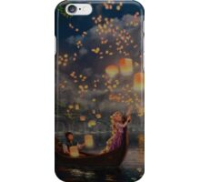 Disney Tangled Disney Rapunzel Floating Lanturns  iPhone Case/Skin