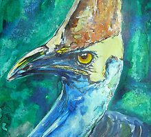 cassowary by christine purtle