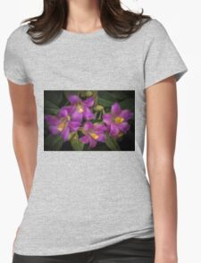 Tree Blossoms. Womens Fitted T-Shirt