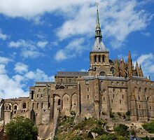 Le Mont St Michel, Normandy by hagulstad