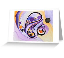 Clairvoyant Greeting Card