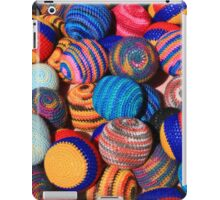 Knit Balls in Many Colors iPad Case/Skin