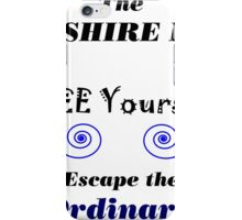 Yorkshire Dales A life less ordinary iPhone Case/Skin