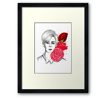 I am your FLOWER BOYFRIEND || Donghyun Framed Print
