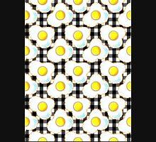 Eggs (black gingham) Unisex T-Shirt