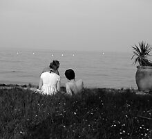 Dejeuner sur l'herbe by Valeria Palombo