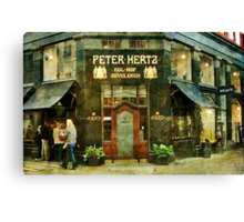 "The ""Royal"" Jeweller shop Canvas Print"