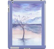 winter background iPad Case/Skin