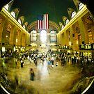 GRAND CENTRAL STATION MANHATTAN NEW YORK CITY USA UNITED STATES OF AMERICA by BingBangVision