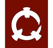 Reflex - White Logo Photographic Print