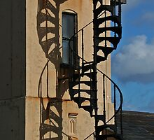 Double helix, Aldeburgh old lifeboat station by Aidan Semmens