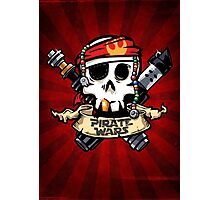 Pirate Wars Photographic Print