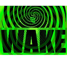 WAKE Photographic Print