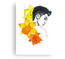 I am your FLOWER BOYFRIEND || Kwangmin Canvas Print