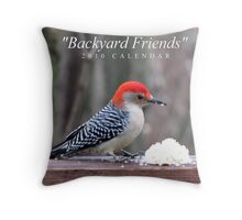 Reflections with Nature Throw Pillow