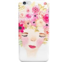Dreaming of Flowers iPhone Case/Skin