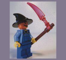 Scary Halloween Scarecrow Custom Minifigure Kids Clothes