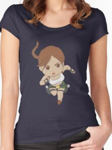 south pacific chibi Women's Fitted Scoop T-Shirt