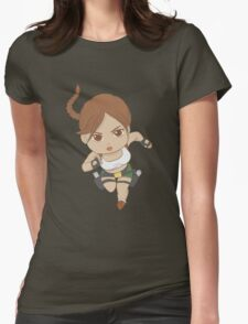 south pacific chibi Womens Fitted T-Shirt