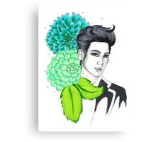 I am your FLOWER BOYFRIEND || Youngmin  Canvas Print