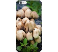 Huddled masses iPhone Case/Skin