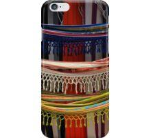 Hanging Hammocks at the Market iPhone Case/Skin
