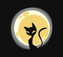 Cat and Moon Unisex T-Shirt