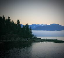 Coastline of British Columbia by alex skelly