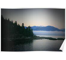 Coastline of British Columbia Poster