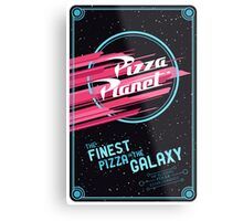 TOY STORY PIZZA PLANET [POSTER] Metal Print