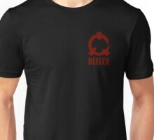 Reflex - Red Logo + Text Unisex T-Shirt