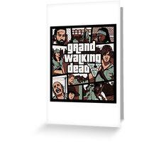 Grand Walking Dead Greeting Card