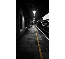 Follow The Yellow Line Photographic Print