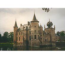 Cleydael Castle  - Belgium Photographic Print