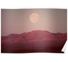 Arizona Moonrise Poster