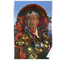 Portrait of Water-seller, Marrakech (Morocco)  Poster
