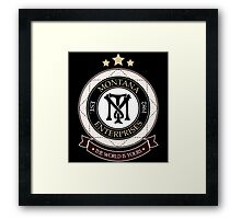 Montana Enterprises Co Framed Print