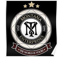 Montana Enterprises Co Poster