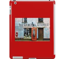 Old Stores and Red Telephone Box iPad Case/Skin