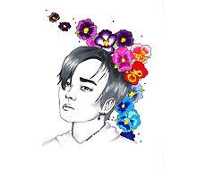 I am your FLOWER BOYFRIEND    Jeongmin  Photographic Print