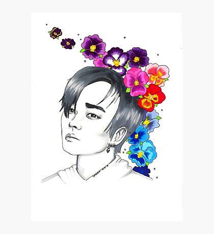 I am your FLOWER BOYFRIEND || Jeongmin  Photographic Print