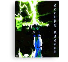 Occupy Asgard (REDBUBBLE Exclusive Variant) Canvas Print