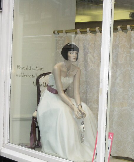 Sad Bride (Off Oxford Street London) Oct 2009 by fatchickengirl
