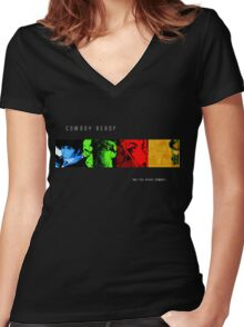 cBebop Women's Fitted V-Neck T-Shirt