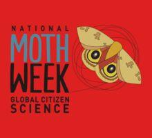 National Moth Week - logo horizontal Baby Tee